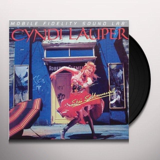 Cyndi Lauper SHE'S SO UNUSUAL Vinyl Record
