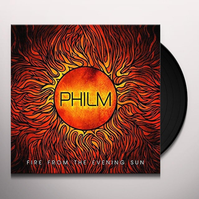 Philm FIRE FROM THE EVENING SUN Vinyl Record