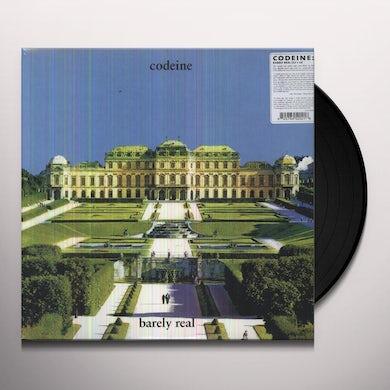 Codeine BARELY REAL Vinyl Record