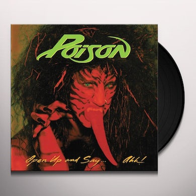 Poison  Open Up And Say Ahh (180 Gram Translucen Vinyl Record