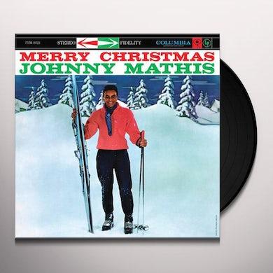 Johnny Mathis MERRY CHRISTMAS Vinyl Record