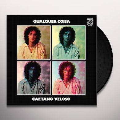Caetano Veloso QUALQUIER COISA Vinyl Record