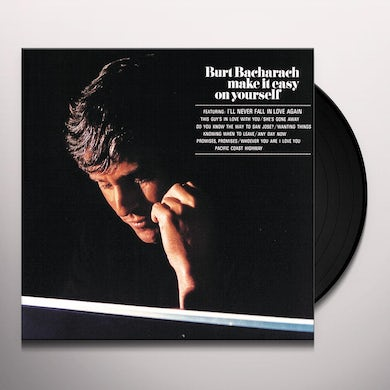 Burt Bacharach MAKE IT EASY ON YOURSELF Vinyl Record