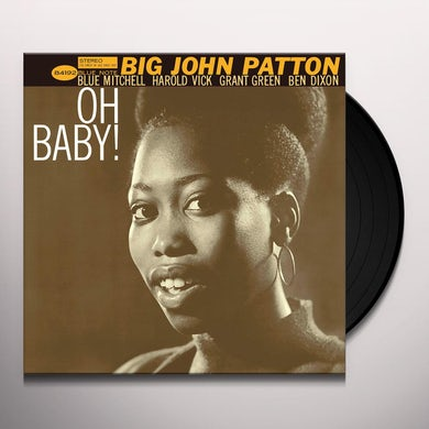 Big John Patton OH BABY Vinyl Record