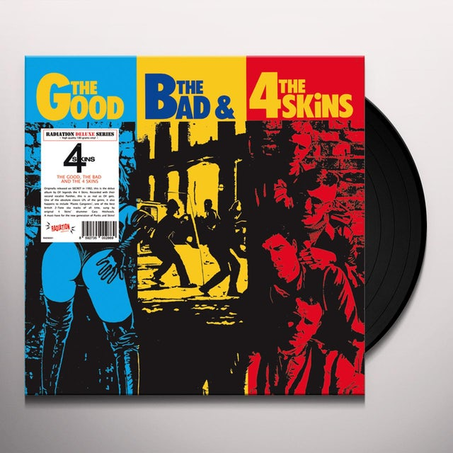 GOOD BAD & 4 SKINS Vinyl Record
