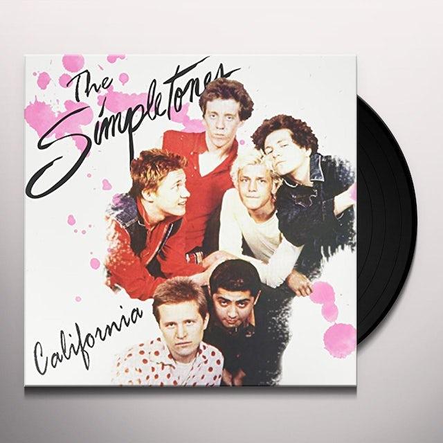 SIMPLETONES CALIFORNIA Vinyl Record