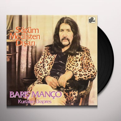 Baris Manco SOZUM MECLISTEN DISARI Vinyl Record