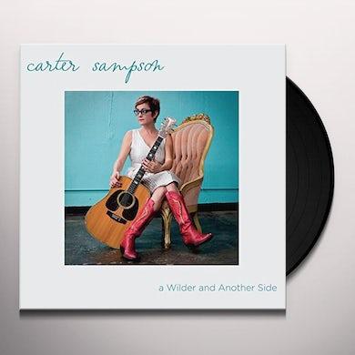 Carter Sampson WILDER & ANOTHER SIDE Vinyl Record