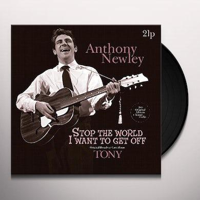 Anthony Newley STOP THE WORLD / TONY + BONUS TRACKS Vinyl Record