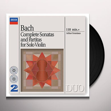 Johann Sebastian Bach BACH: COMPLETE SONATAS & PARTITAS FOR SOLO VIOLIN Vinyl Record