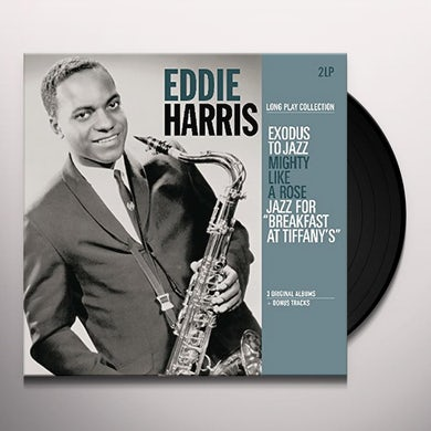 Eddie Harris EXODUS TO JAZZ / MIGHTY LIKE A ROSE / JAZZ FOR Vinyl Record