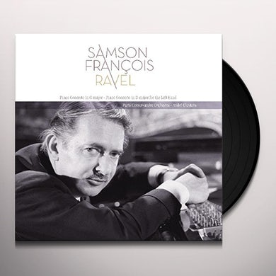RAVEL: PIANO CONCERTO IN G MAJOR Vinyl Record