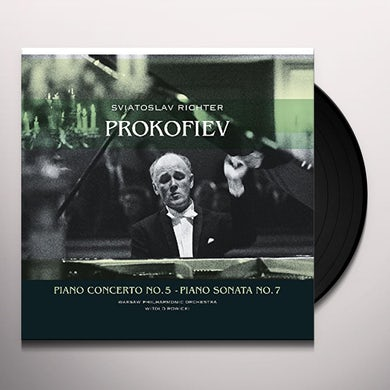Sergej Prokofiev PIANO CONCERTO 5 / PIANO SONATA 7 Vinyl Record