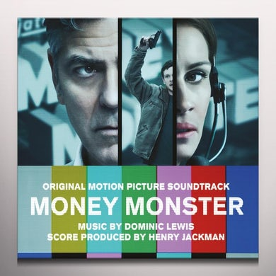 Henry Jackman MONEY MONSTER / Original Soundtrack Vinyl Record