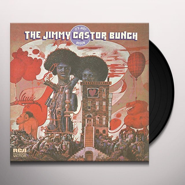 Jimmy Bunch Castor IT'S JUST BEGUN Vinyl Record