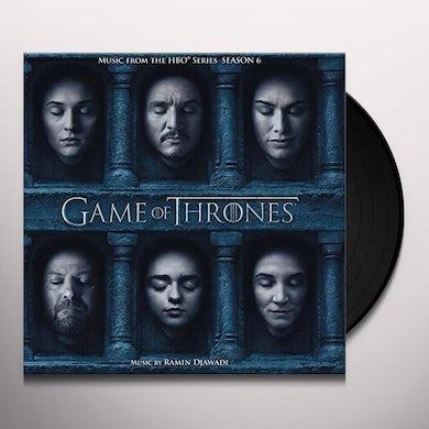 RAMIN DJAWADI GAME OF THRONES: SEASON 6 / O.S.T. Vinyl Record