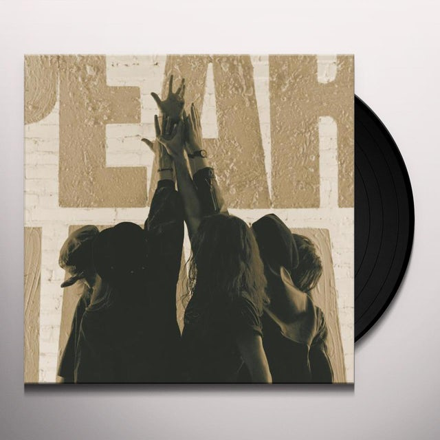 Pearl Jam TEN Vinyl Record