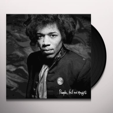 Jimi Hendrix People, Hell & Angels Vinyl Record