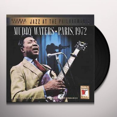 Muddy Waters PARIS 1972 Vinyl Record