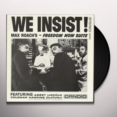 Max Roach WE INSIST Vinyl Record