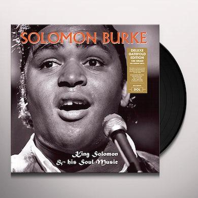 Solomon Burke KING SOLOMON & HIS SOUL MUSIC Vinyl Record