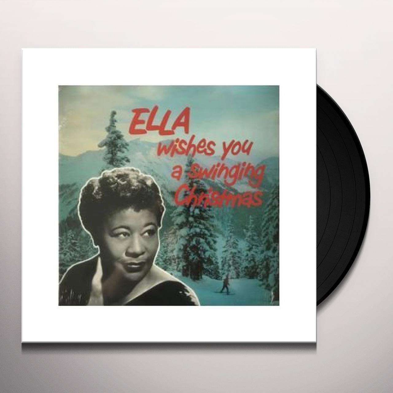 Ella Wishes You A Swinging Christmas.Ella Fitzgerald Ella Wishes You A Swinging Christmas Vinyl Record