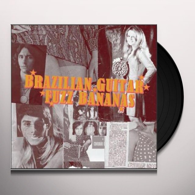 Brasilian Guitar Fuzz Bananas / Various Vinyl Record