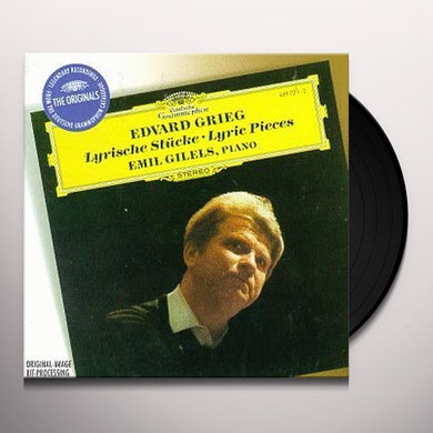 Grieg LYRIC PIECES Vinyl Record