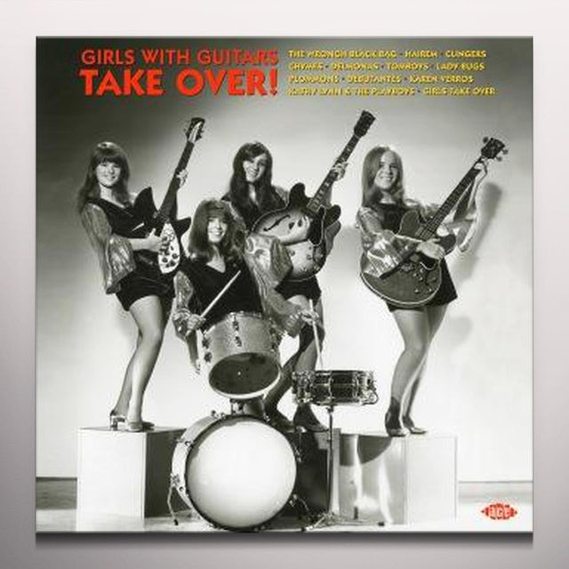 Girls With Guitars Take Over / Various Vinyl Record