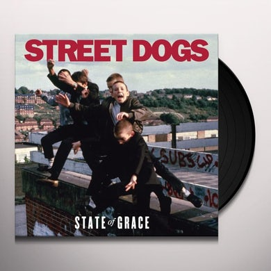 Street Dogs STATE OF GRACE (RED VINYL) Vinyl Record
