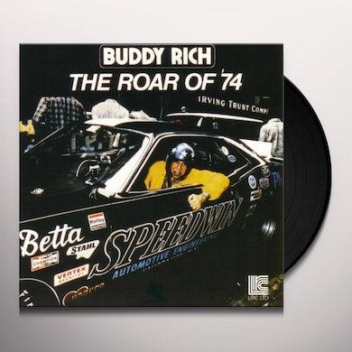 Buddy Rich ROAR OF 74 Vinyl Record - 180 Gram Pressing