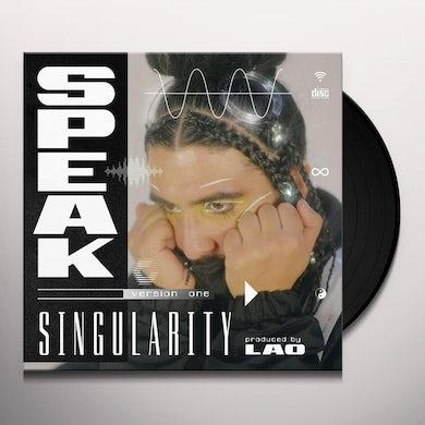 SPEAK SINGULARITY Vinyl Record