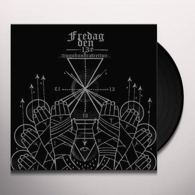 Fredag Den 13:E TJUGOHUNDRATRETTON Vinyl Record