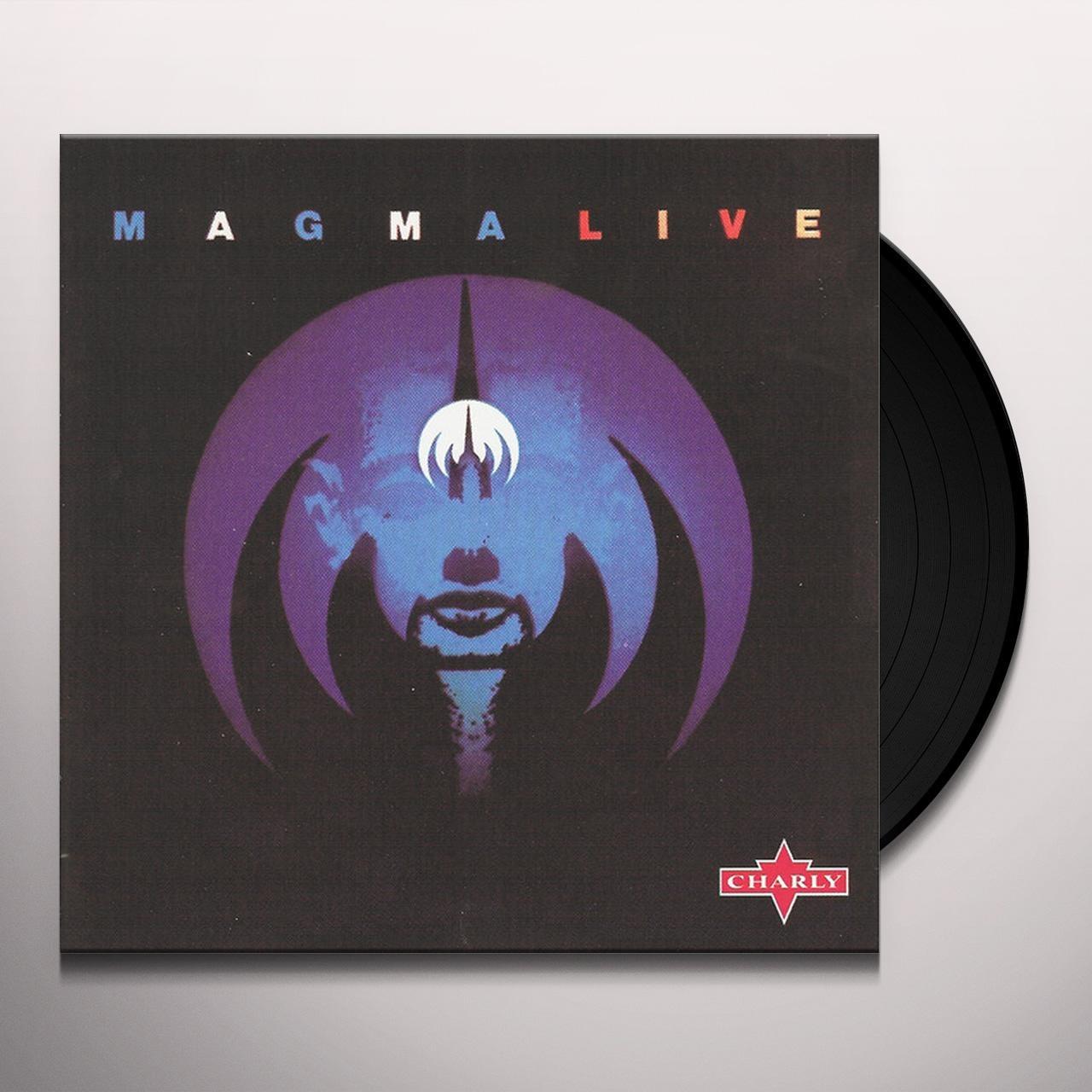Magma LIVE Vinyl Record