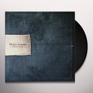 Ólafur Arnalds FOUND SONGS Vinyl Record