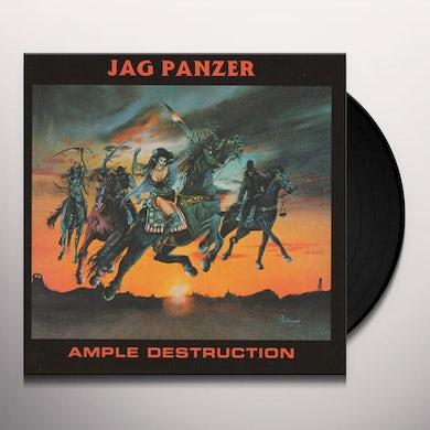 Jag Panzer AMPLE DESTRUCTION Vinyl Record