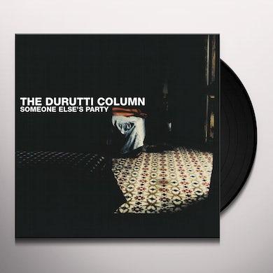 The Durutti Column SOMEONE ELSE'S PARTY Vinyl Record