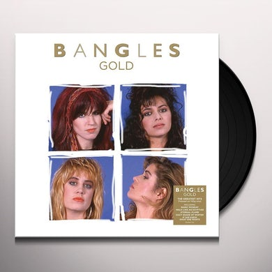 The Bangles GOLD Vinyl Record