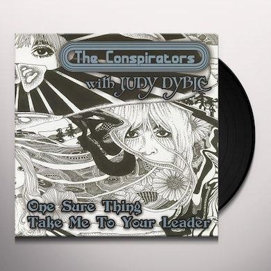 Conspirators ONE SURE THING Vinyl Record