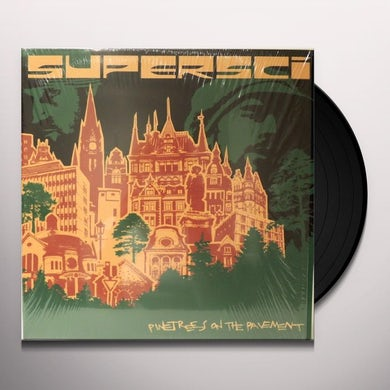 Supersci PINETREES ON THE PAVEMENT Vinyl Record - UK Release