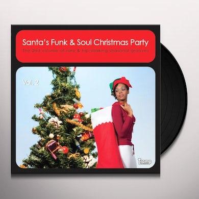 SANTA'S FUNK & SOUL CHRISMTAS PARTY 2 / VARIOUS Vinyl Record