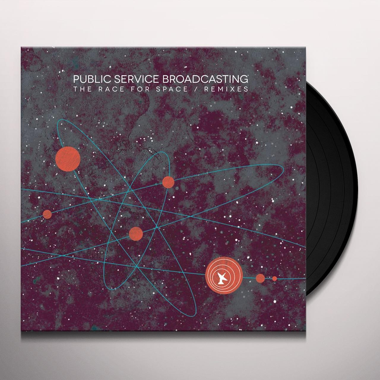 Public Service Broadcasting RACE FOR SPACE / REMIXES Vinyl Record