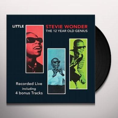 Little Stevie Wonder 12 YEAR OLD GENIUS Vinyl Record