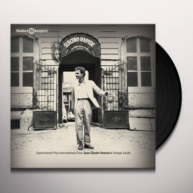 Jean-Claude Vannier ELECTRO RAPIDE Vinyl Record