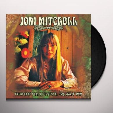 Joni Mitchell NEWPORT FOLK FESTIVAL 19TH JULY 1969 Vinyl Record