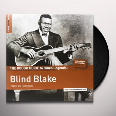 ROUGH GUIDE TO BLIND BLAKE Vinyl Record