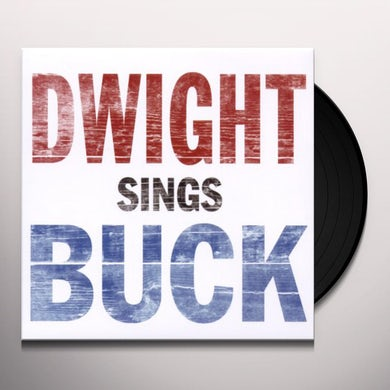 Dwight Yoakam DWIGHT SINGS BUCK Vinyl Record