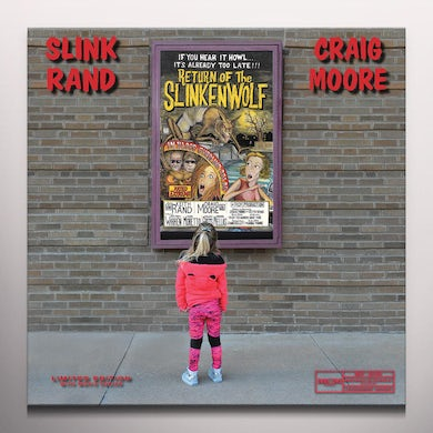 Slink Rand & Craig Moore RETURN OF THE SLINKENWOLF - Limited Edition Bloody Red Colored Vinyl Record
