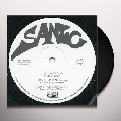 Freddie Mckay / Augustus Pablo I'M A FREE MAN / HAP KI DO Vinyl Record
