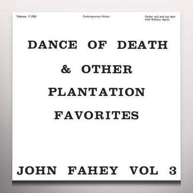 Dance of Death and Other Plantation Favorites Vinyl Record